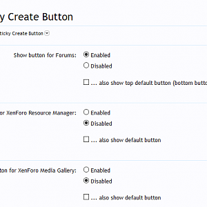 [cXF] Sticky Create Button