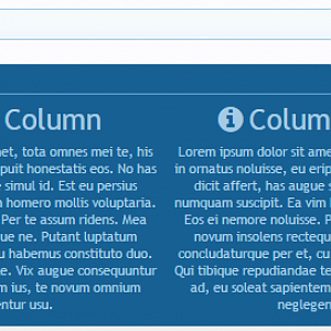 [cXF] Advanced Footer default columns